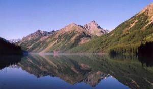 Алтай. Большое Кучерлинское озеро.