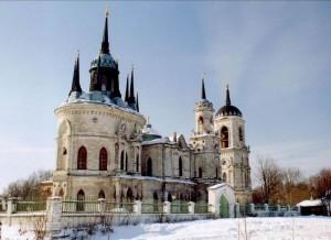 Церковь Владимирской иконы божией матери. с.Быково.