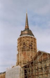 Николо-Радовицкий мужской монастырь. Колокольня церкви св.Петра и Павла (1787г.)