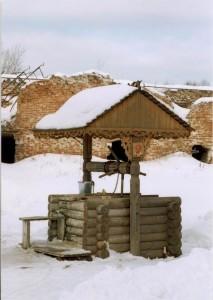 Святой источник на территории Николо-Радовицкого мужского монастыря